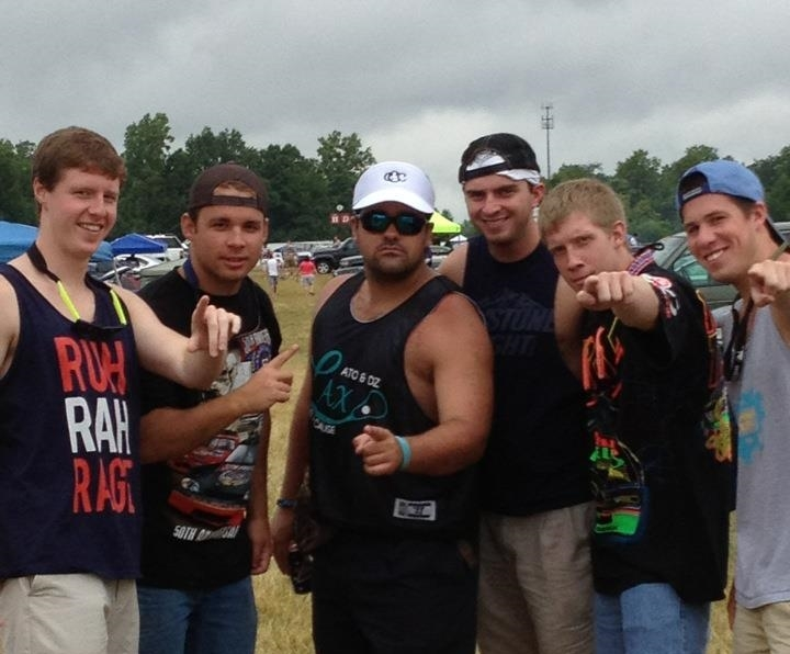 ATΩ's get together at Michigan International Speedway over the summer