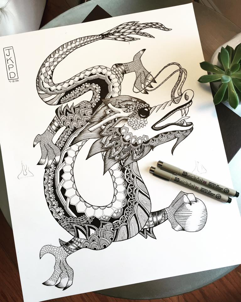 Dragon for Kinh Thi