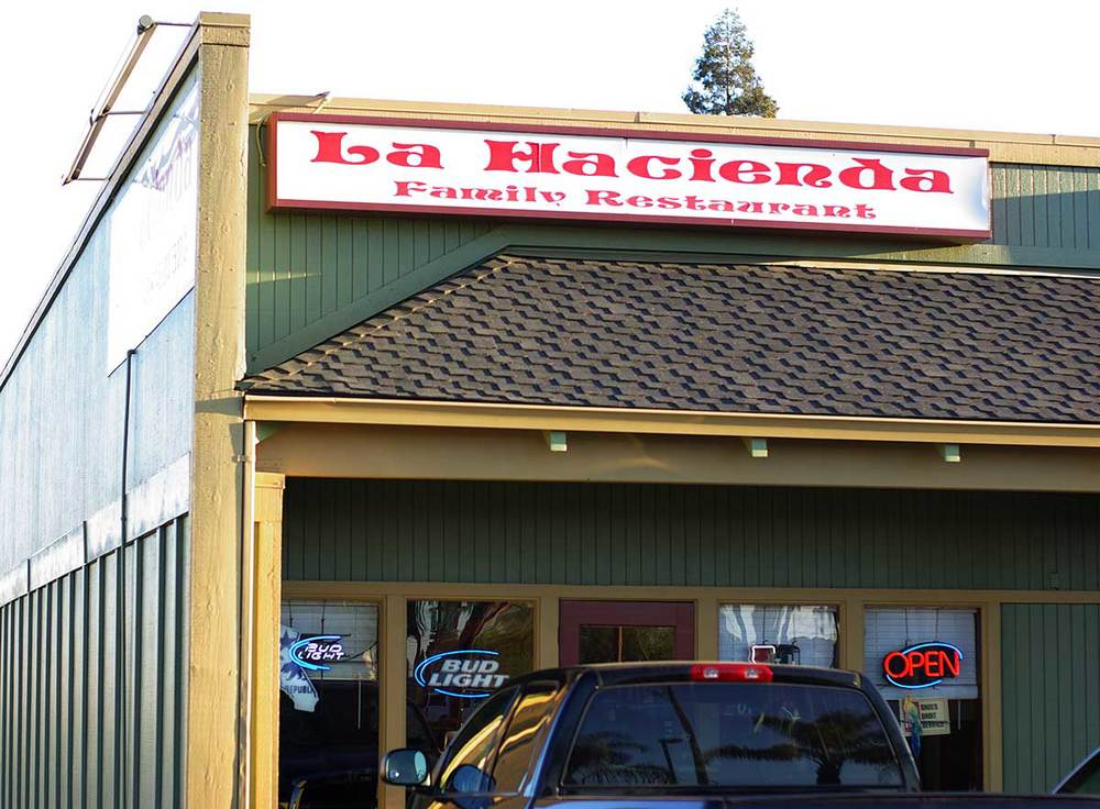 La Hacienda Family Restaurant. Salida, CA