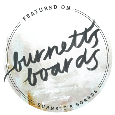 Featured on Burnett's Boards Badge