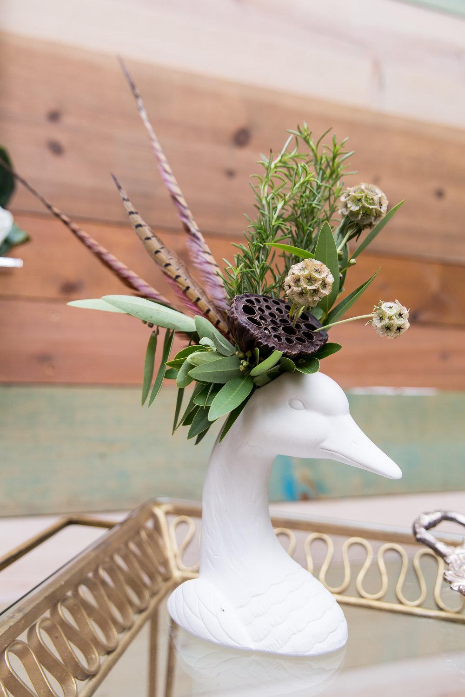 Goose Vase