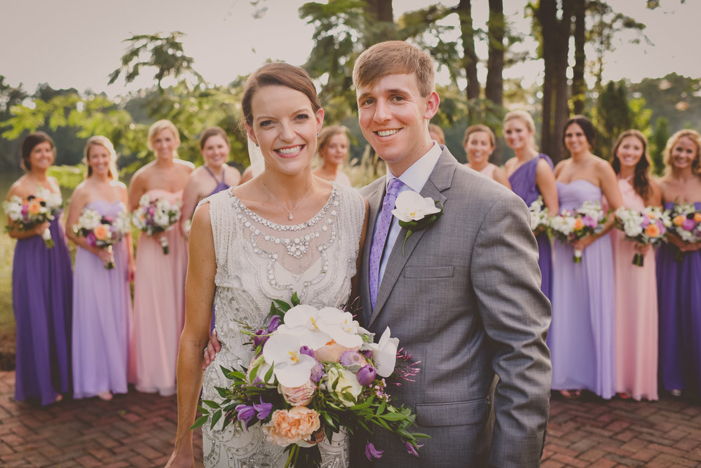 Clemson Colors, Wedding Flowers