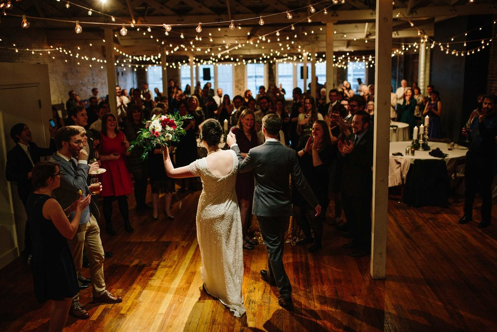 The Stockroom, Wedding Reception, Eclectic Sage