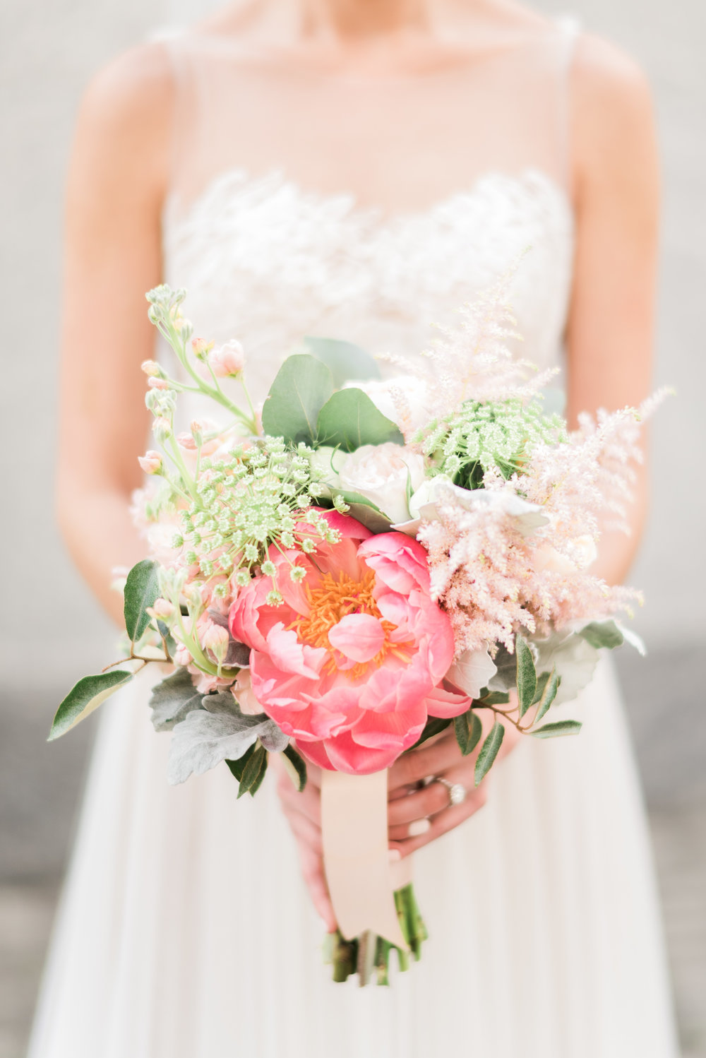 Downtown Raleigh Wedding, Bridal Bouquet