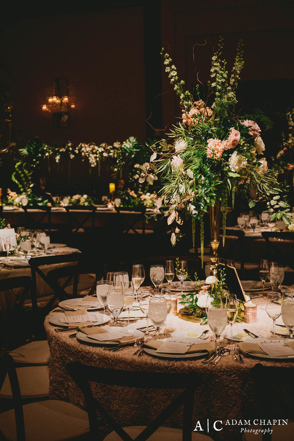 Raleigh Event Florist, Umstead Hotel and Spa, Ballroom Wedding