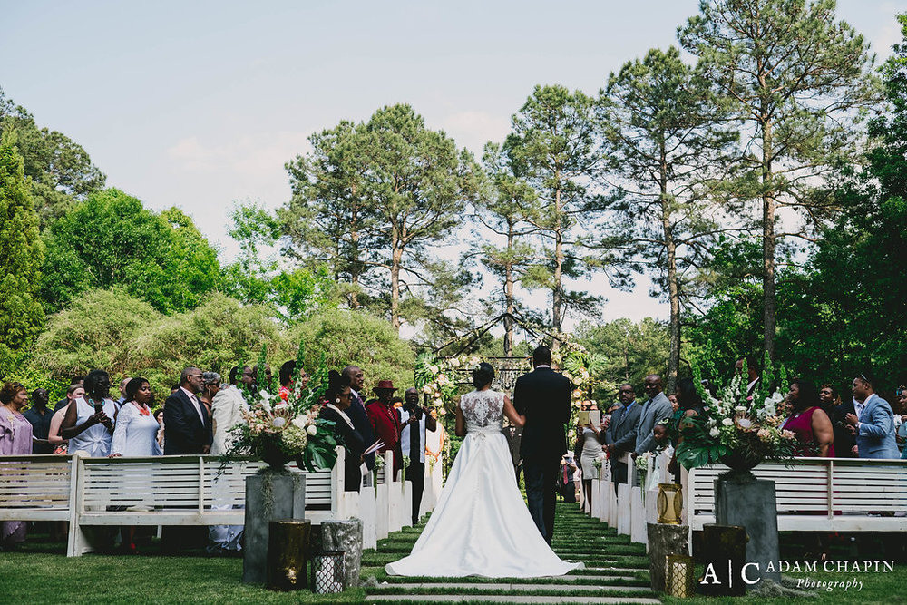 Umstead Wedding Ceremony