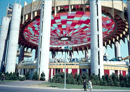The New York State Pavilion in 1964. Photo Courtesy ofu0026nbsp;nywf64.com & Fifty Years Later: A Fair to Remember u2014 Marcy Feld Photography