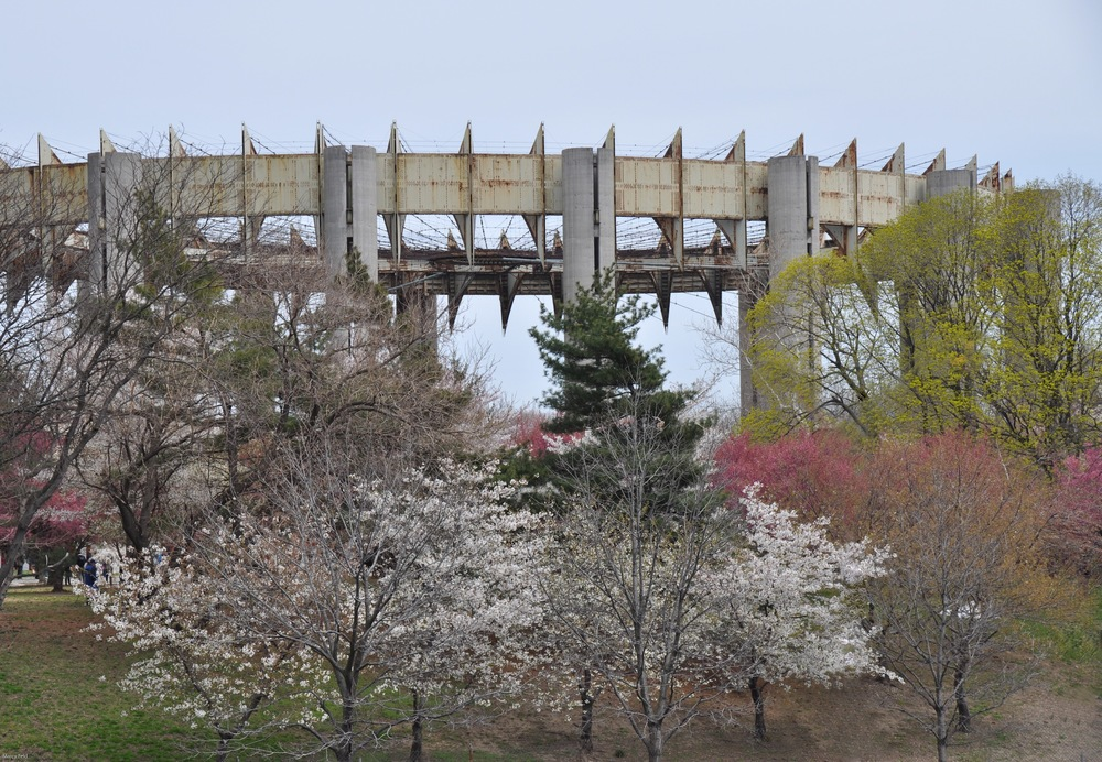 """The New York State Pavilion """"Tent of Tomorrow"""" 4-22-14"""
