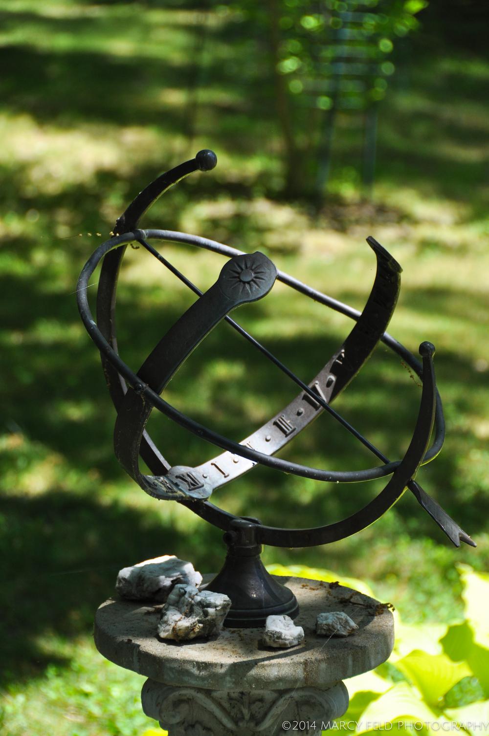 Armillary Sundial