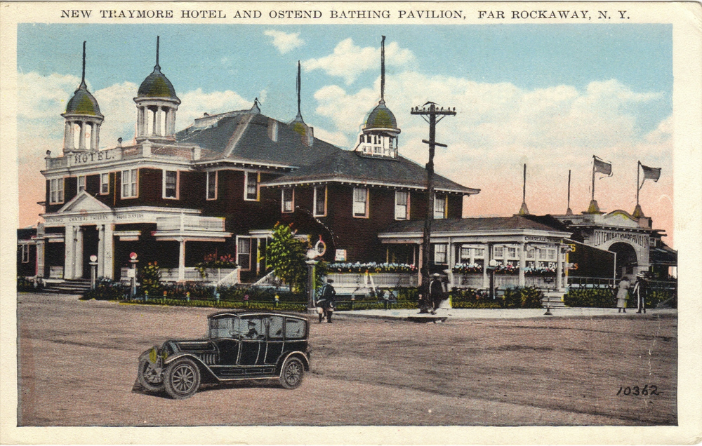 Another Beautiful Hotel And Bathing Pavilion   Photo courtesy of the   Leiman Library     and The Leiman Collection on   Rockawaymemories.com