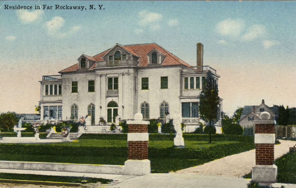Another Beautiful Residence   Photo courtesy of the   Leiman Library     and The Leiman Collection on   Rockawaymemories.com