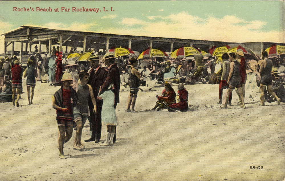 Photo courtesy of the   Leiman Library     and The Leiman Collection on   Rockawaymemories.com