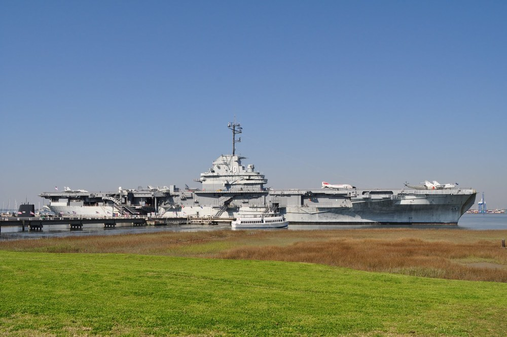 USS Yorktown Fire Protection System