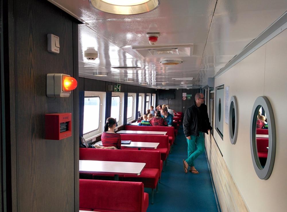 Ein schickes und zeitgemäßes Design erwartet den Fahrgästen.