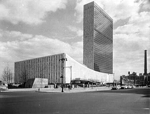 Old School: The United Nations Building, New York, New York, USA (1952)