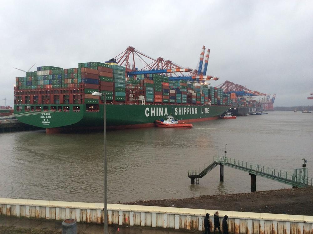CSL Globe - home port of Hong Kong.