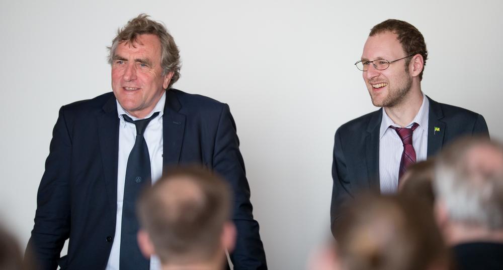 Dr. Ulrich Getsch, Lord Mayor of Cuxhaven & Erik Kravets, GAMI President