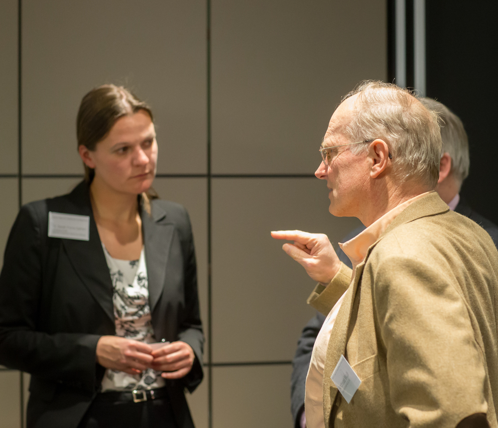 Sarah Fiona Gahlen, University of Kiel and GAMI Vice President & Capt. Andreas Wulf, Otto Wulf GmbH and Co. KG