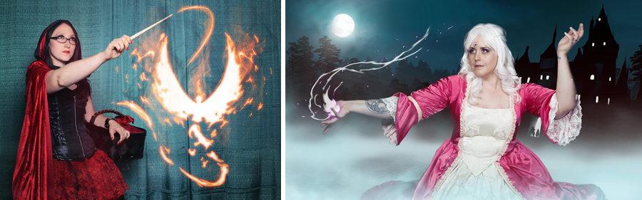 Photoshop credit: Paige Cameron on the epic magic in these last two images!