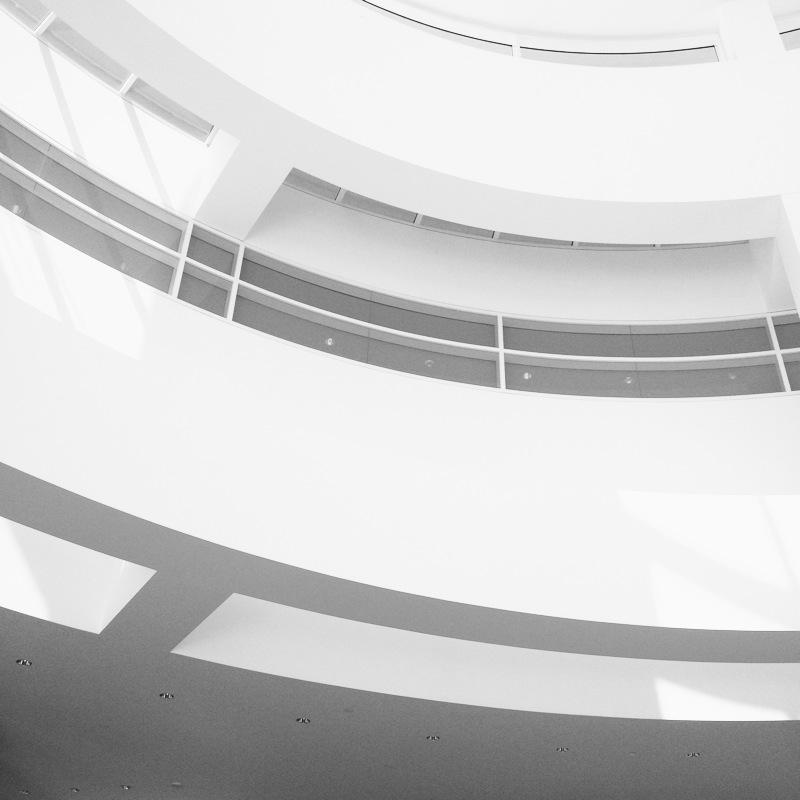 Getty interior, Los Angeles