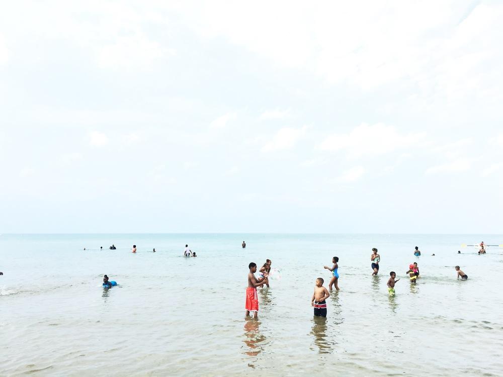 South Shore beach, Chicago