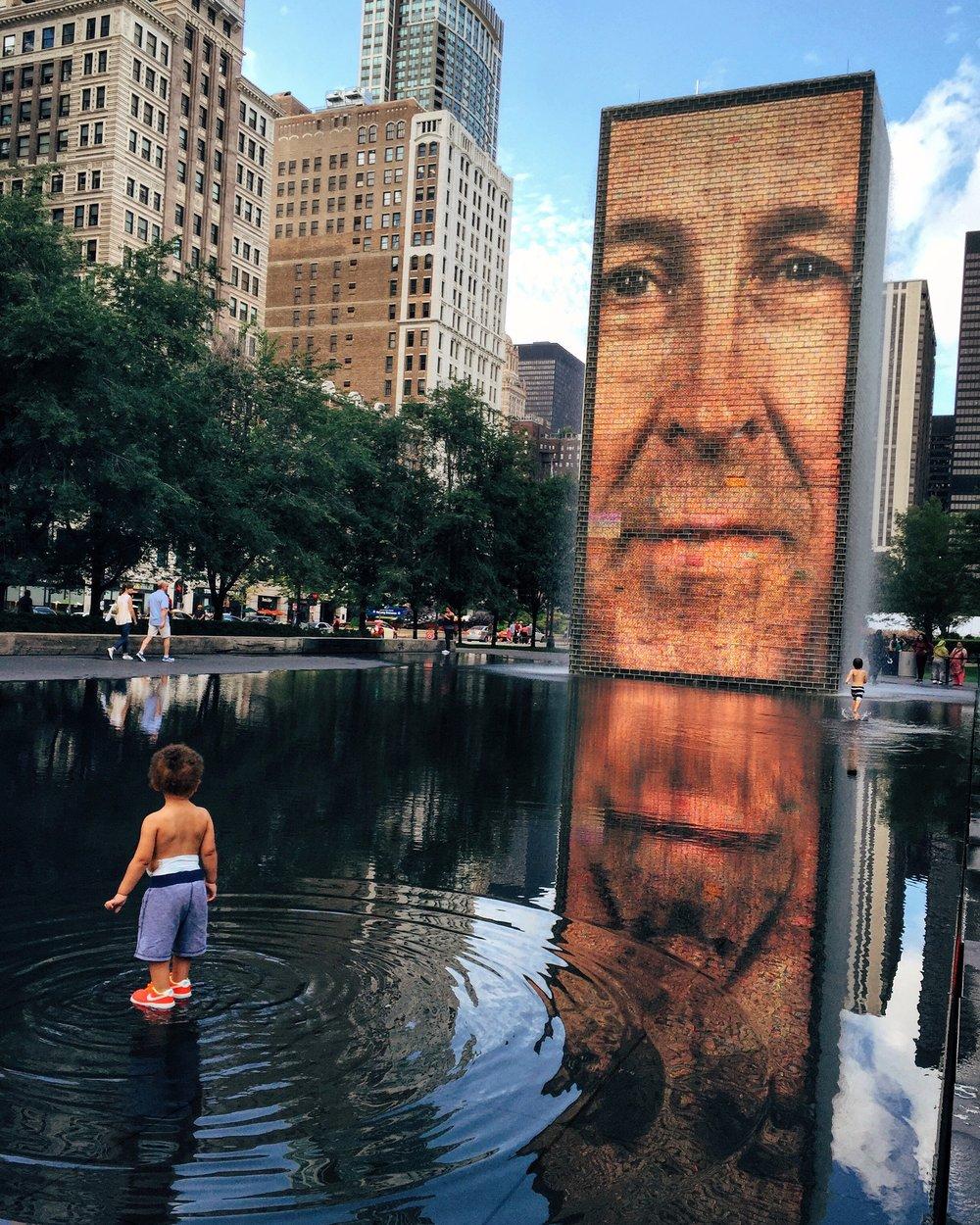 Darragh, Millennium Park, Chicago