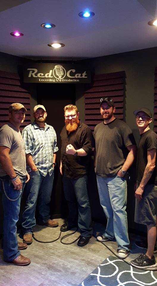 Bucky, Casey, Engineer Luke, Tyler, Mike, South Of Vertical, Tulsa OK