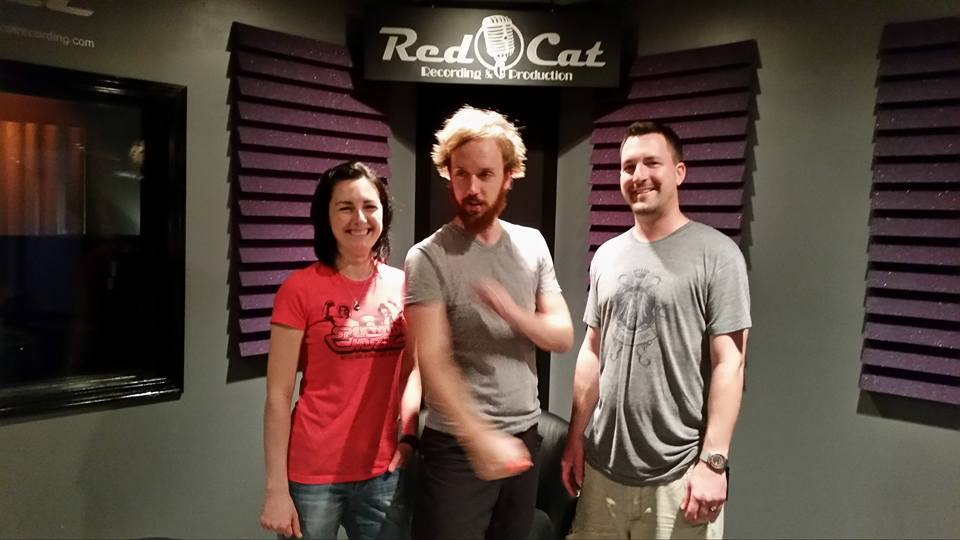 Erin, Mike and Mark, Standing In The Colour, Wichita KS