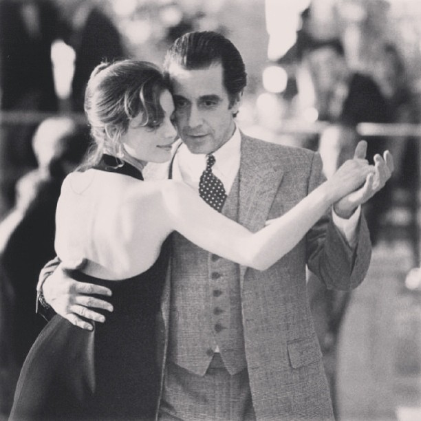 """The Scent of a Woman, its a classic film night, Al is phenomenal in this movie #pacino """" Women. What could you say? Who made 'em? God must've been a fucking genius. Hair. They that hair's everything you know. Have you ever buried your nose in a mountain of curls and just wanted to go to sleep forever? Or lips. And when they touched yours were like that first swallow of wine after you just crossed the desert. Tits. Hoo-hah! Big ones, little ones. Nipples staring right out at ya, like secret searchlights. Mmm Legs. I don't care if they're Greek columns, or second-hand Steinways, but what's between them… passport to heaven. I need a drink"""""""