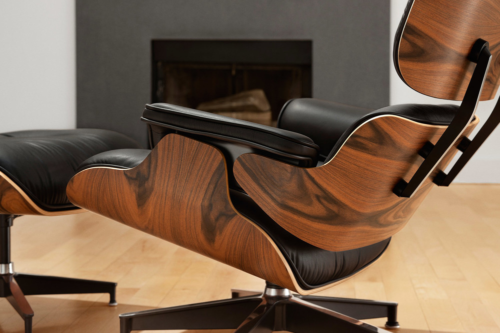 how to tell if your eames lounge chair is real vs fake. Black Bedroom Furniture Sets. Home Design Ideas