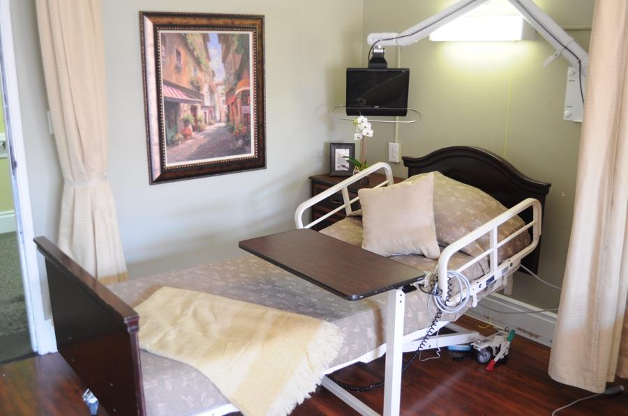 Patient's bed
