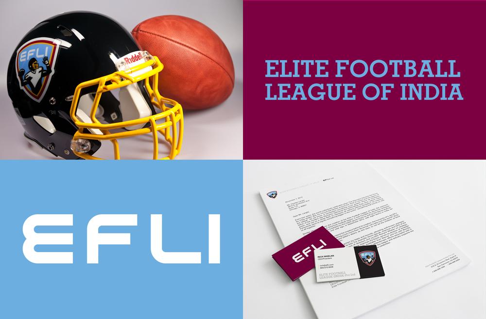 Elite Football League of India - EFLI League Brand