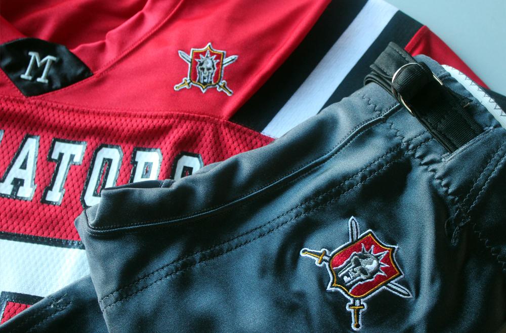 Elite Football League of India - Team Outfitting - Mumbai Gladiators Uniform Detail