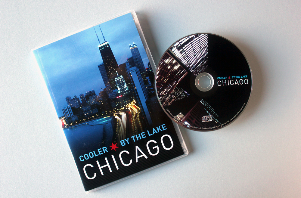 World Business Chicago - Cooler By The Lake CD-ROM Packaging