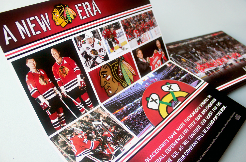 2008 Chicago Blackhawks - A New Era - Interactive Marketing Presentation - Packaging Detail