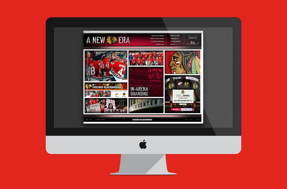 2008 Chicago Blackhawks - A New Era - Interactive Marketing Presentation
