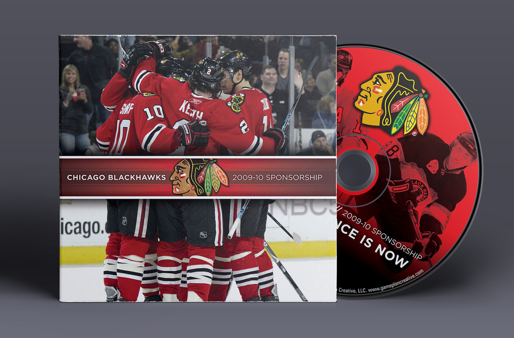 2009 Chicago Blackhawks - Interactive Sponsorship Presentation - Custom Packaging