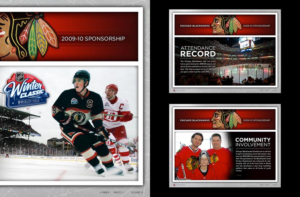 2009 Chicago Blackhawks - Interactive Sponsorship Presentation