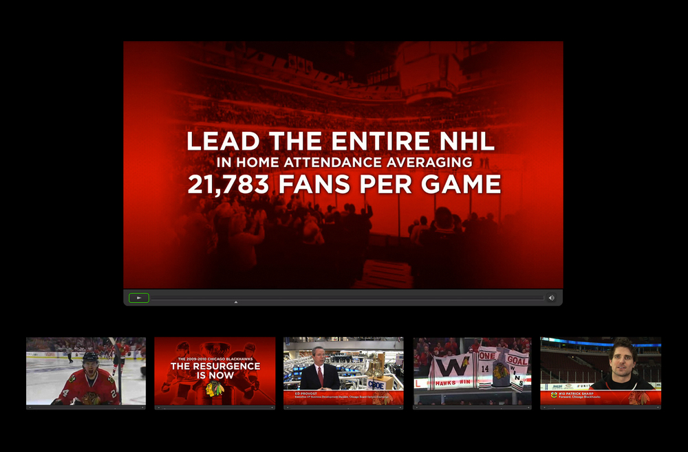 2009 Chicago Blackhawks - Interactive Sponsorship Presentation - Video Detail
