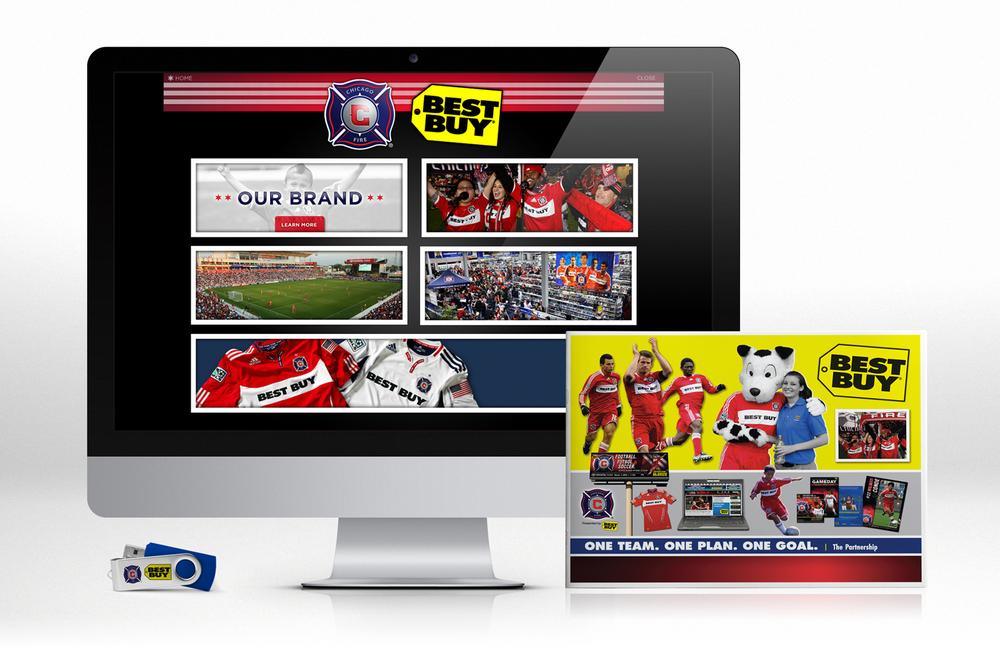 Chicago Fire Soccer / Best Buy Jersery Partnership Renewal Presentation