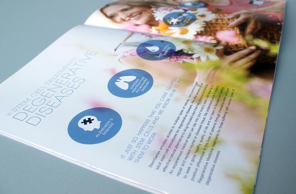 StemGenex Brochure - Stem Cell Treatment educational spread