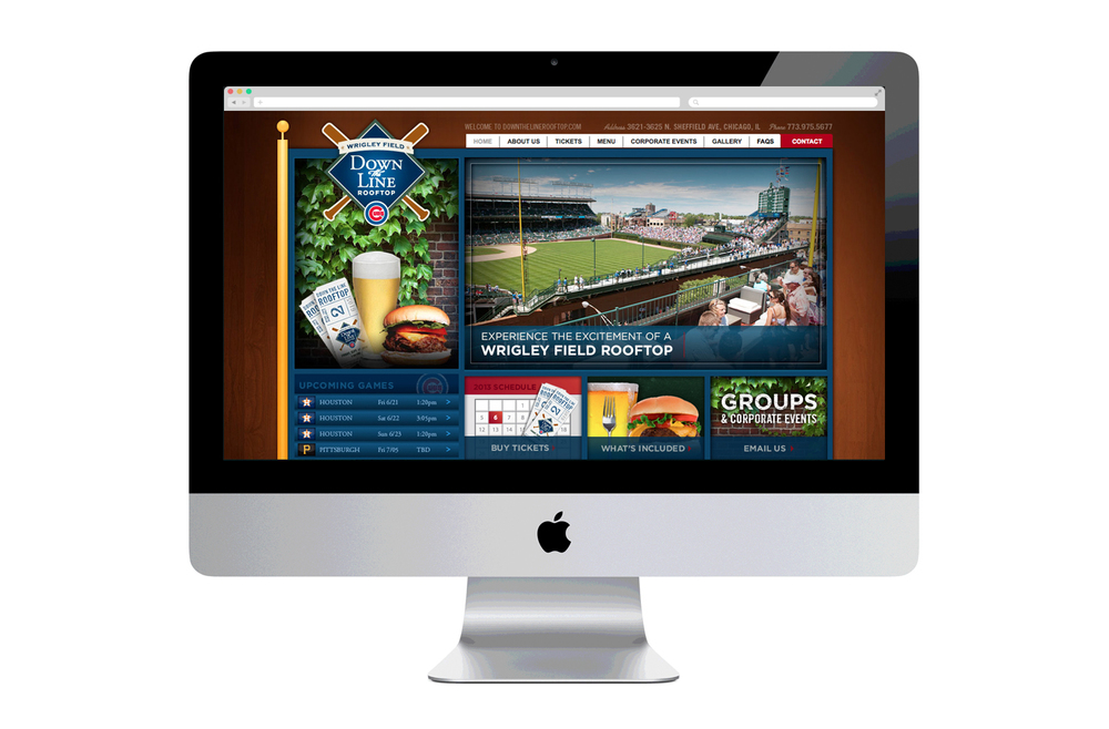 DTLrooftop.com Website Design