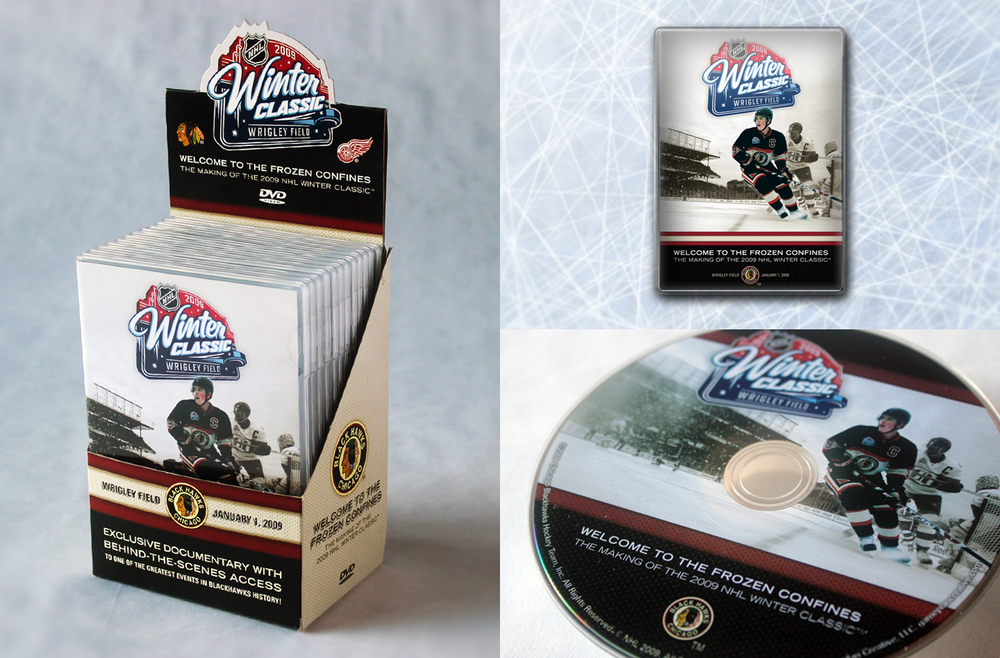 Official NHL 2009 Winter Classic - DVD + DVD Case