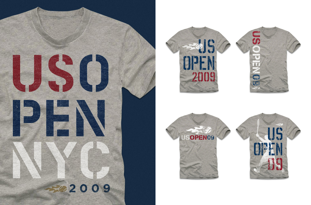 US Open Lifestyle Tee Collection