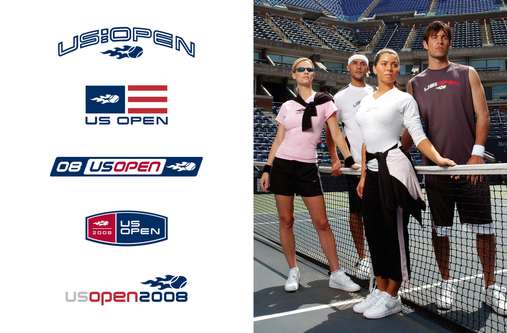 US Open Tennis - Logo Design and Performance Wear