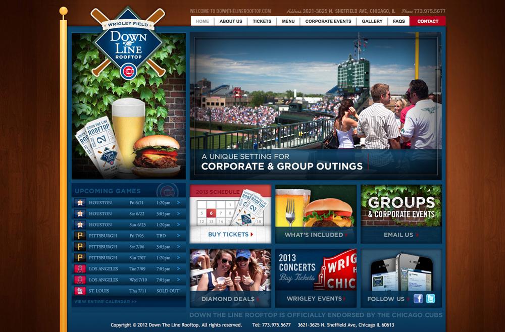 DTLrooftop.comWebsite Design