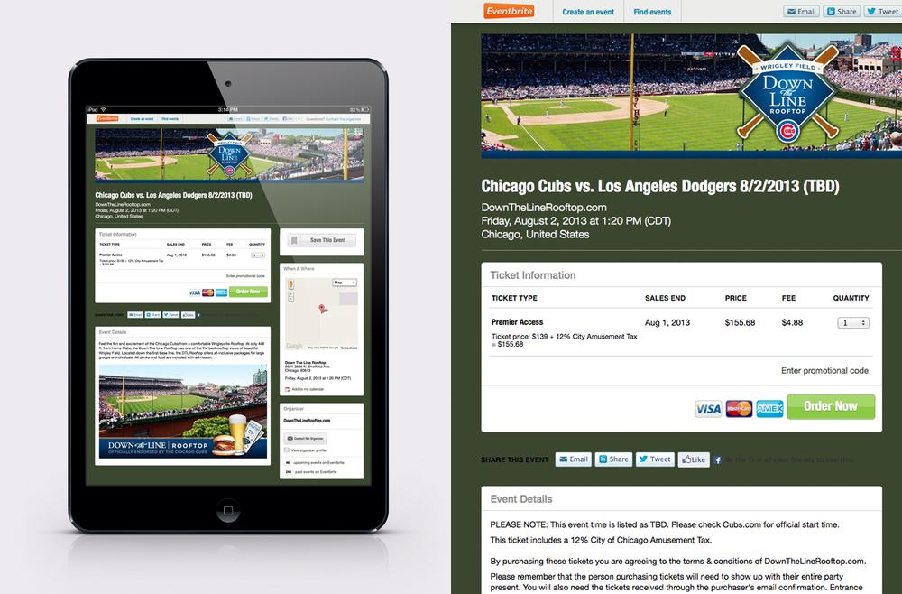 DTLrooftop.comWebsite Design - Mobile