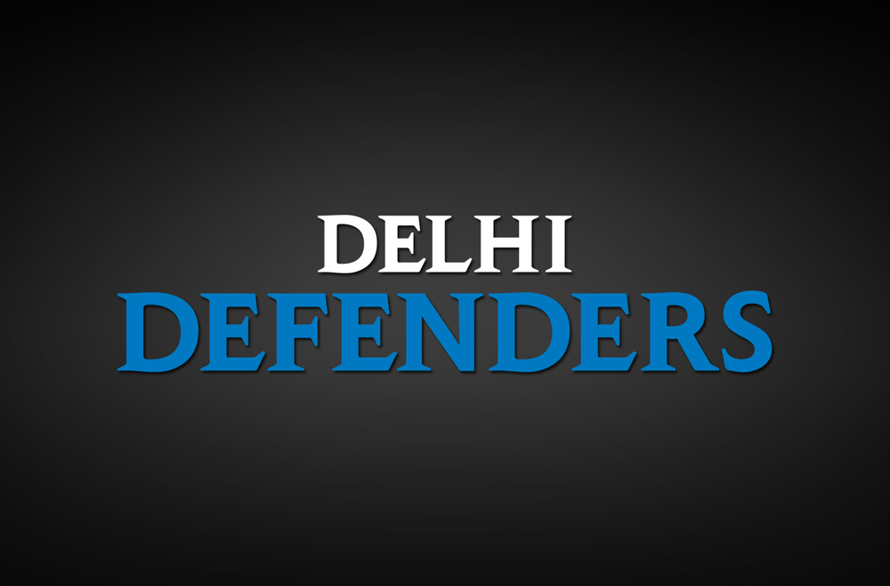 Delhi Defenders Secondary Logo