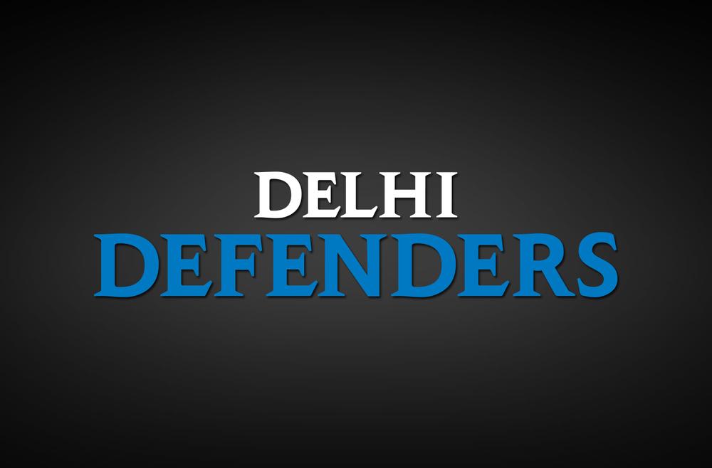 Delhi Defenders Secondary Logo