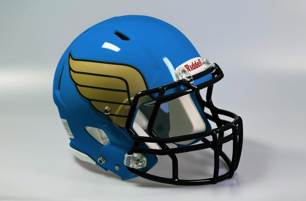 Delhi Defenders Uniform - Helmet